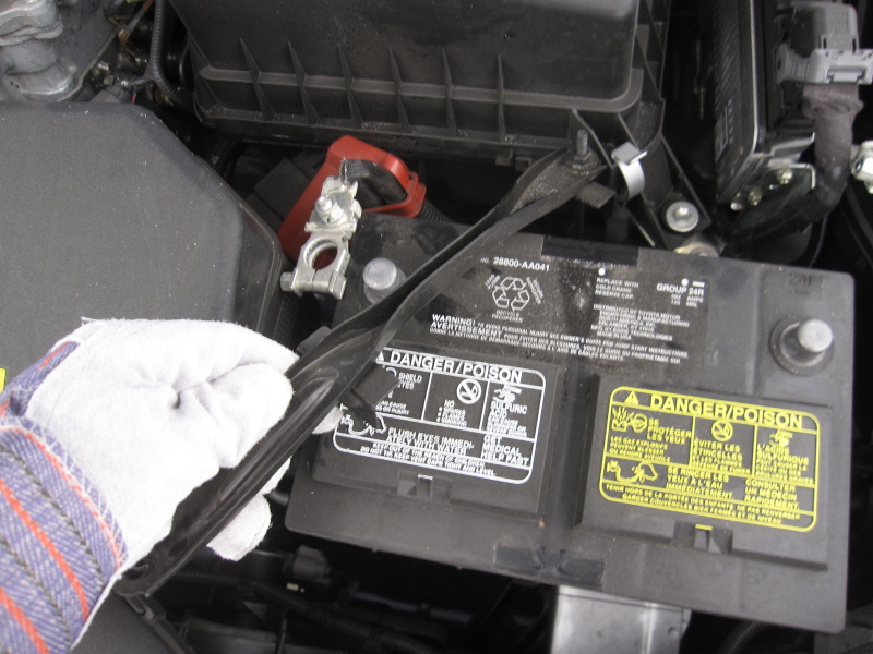 How To Change Replace Battery Toyota Camry 116