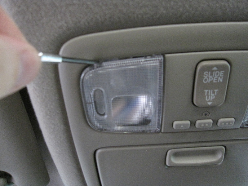 2012 toyota 4runner interior for How to change interior light bulb in car
