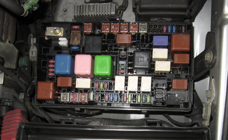toyota 4runner fuse box diagram 111 toyota 4runner fuse box panel under the hood