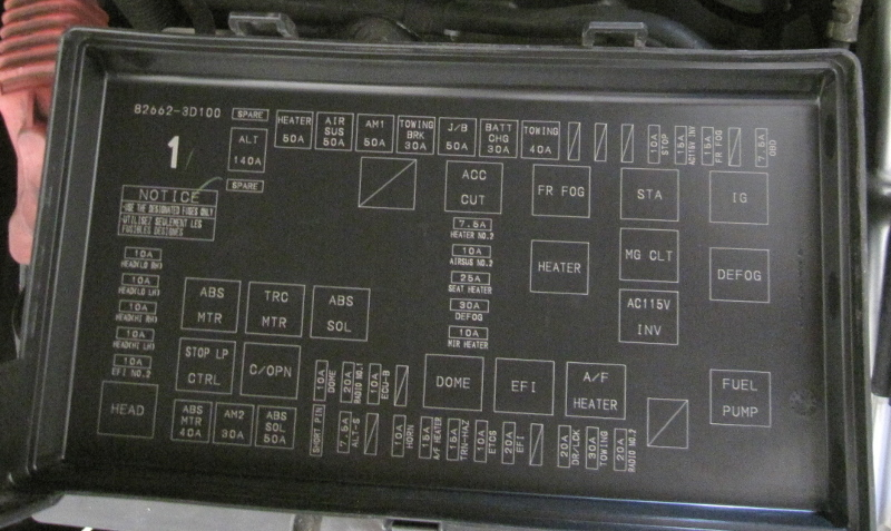 toyota 4runner fuse box diagram 113 toyota 4runner fuse box diagram