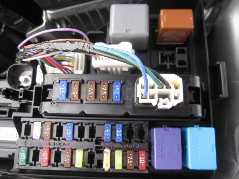 Toyota Camry Fuse Box Location 111 besides 414998 Diy Gen3 Keyless Entry Alarm Installation Many Pics together with Discussion C5311 ds570282 furthermore 6jqdc Toyota Corolla Toyota Corolla 1995 Replaced moreover 515925 How Disable Vats 2. on toyota camry fuse box 1999