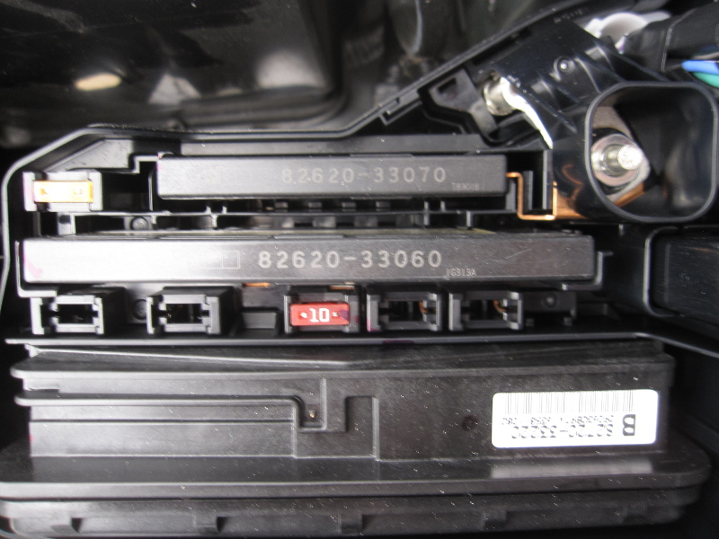 Toyota Camry Fuse Box Location 112 solved] 12v wire from ign touched metal, car won't start toyota  at fashall.co