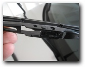 how to change wiper blades toyota camry 2003